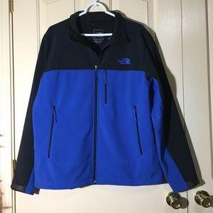 Blue Waterproof Apex Bionic Northface Jacket